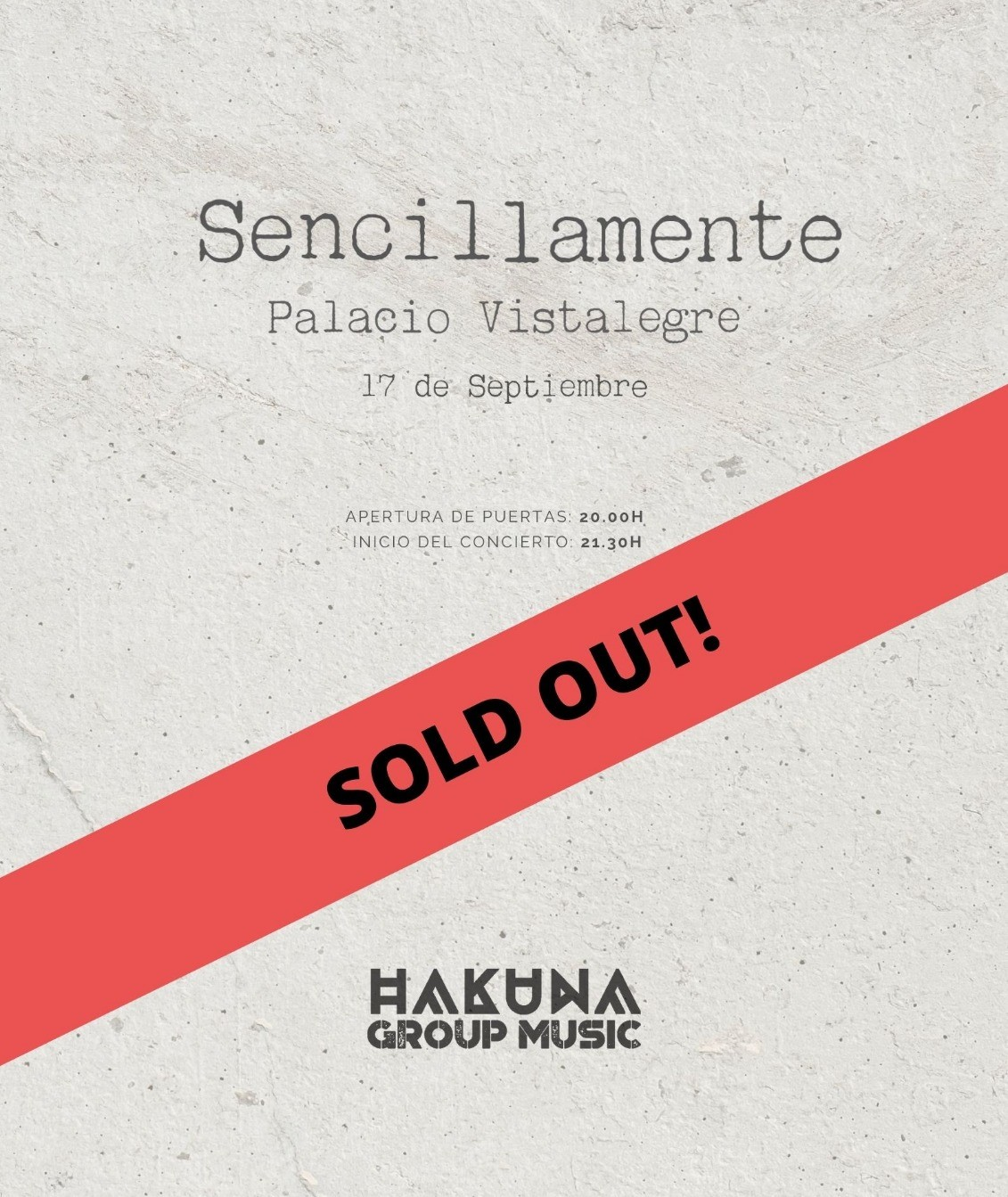 sold out hakuna